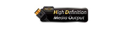 Reprodução multimídia e acesso direto ao NAS com HDMI