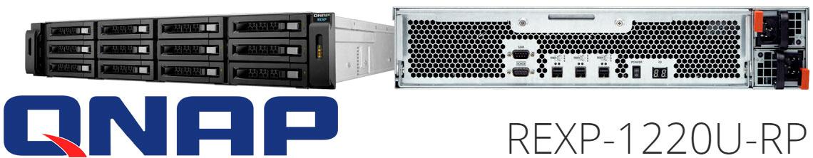 REXP-1220U-RP Qnap, solução de expansão de capacidade NAS 12 baias