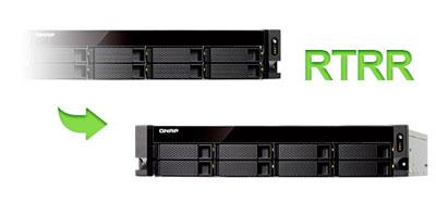 RTRR - Replicação de Dados no 8 Bay Storage TS-863U