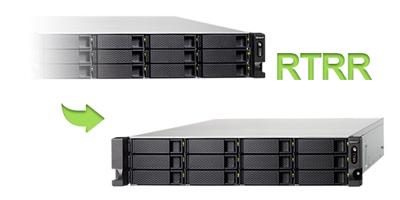 RTRR - Replicação de dados no storage rack 60TB