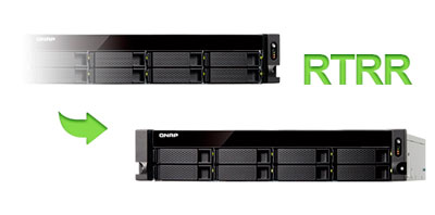 RTRR - Storage rack TS-863U-RP QNAP