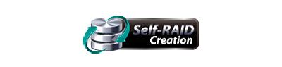 Self-RAID Creation