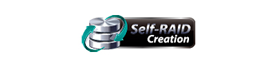 Self-RAID Creation