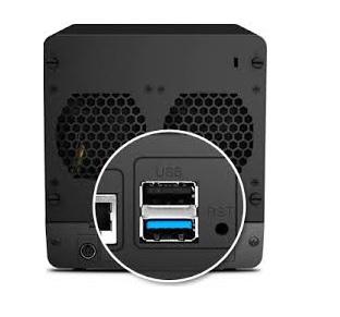 Servidor de Rede com porta USB3.0: Altas taxas de transferência!
