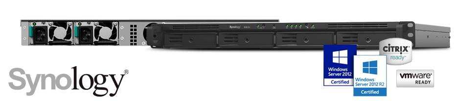Servidor NAS Synology RS815+, 32TB de alta performance