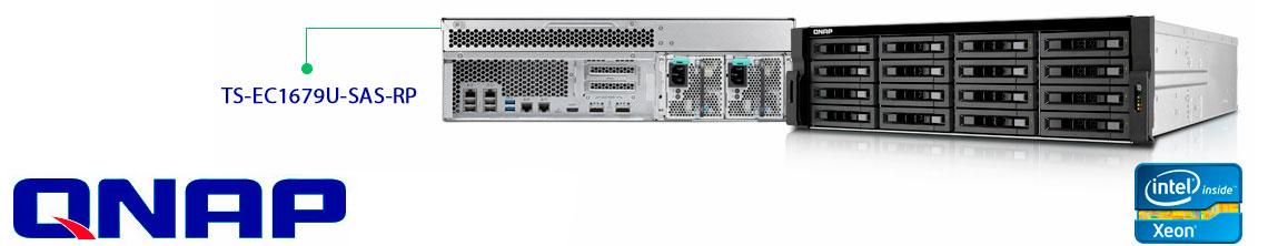 Servidor Storage Qnap 16 baias 3U rackmount