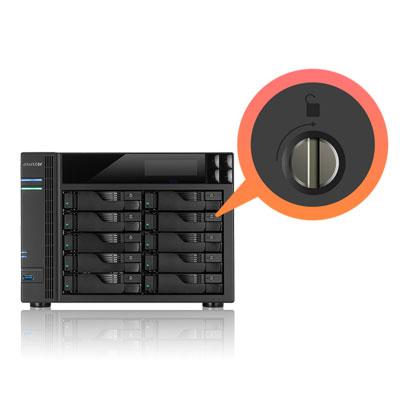 Sistema de travas para discos para o AS7004T