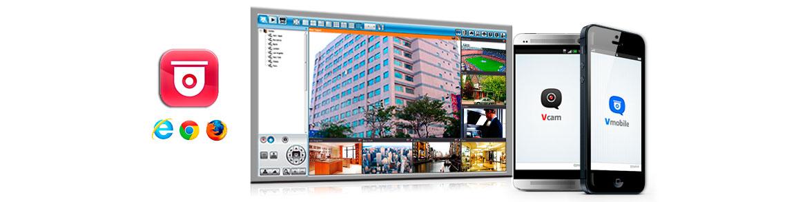 Sistema de vídeo-vigilância Pró