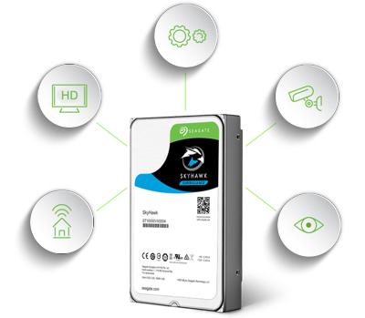 SkyHawk 10TB desenvolvido para altas taxas de trabalho