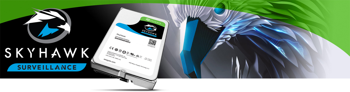 SkyHawk HD 3TB surveillance Seagate ideal para NVRs e DVRs