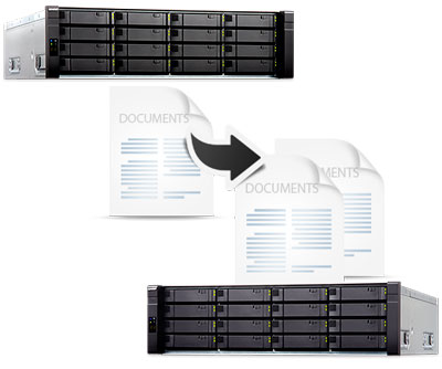 Solução de backup para NAS Enterprise ZFS