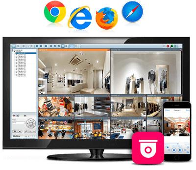Solução de vigilância profissional para empresas