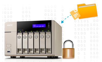 Storage 36TB com criptografia NAS