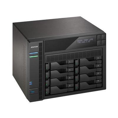 Storage 8bay Asustor AS6208T, NAS de alta capacidade para desktop