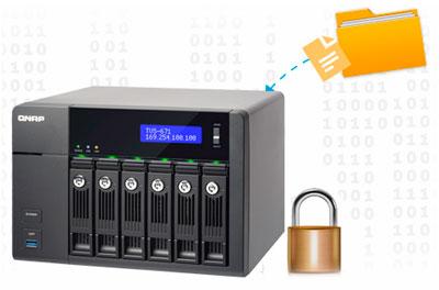 Storage com criptografia, segurança dos dados