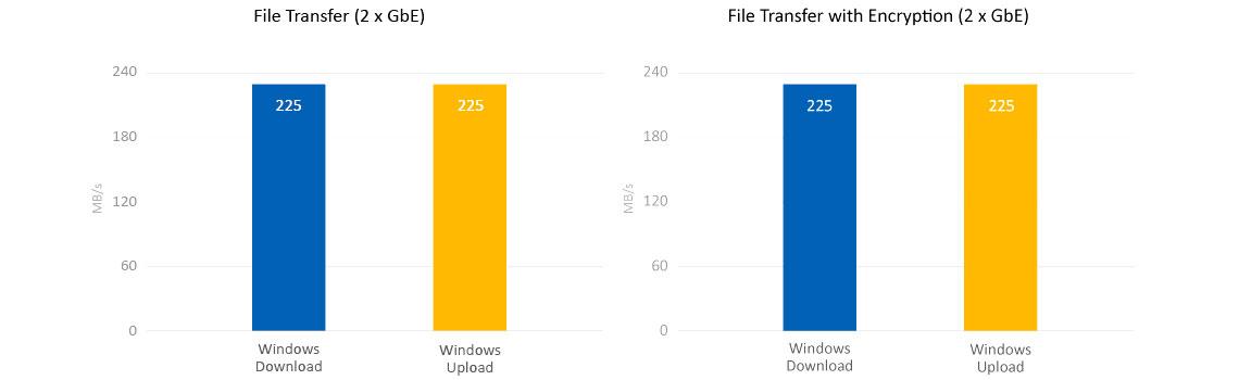 Storage com performance Quad Core e criptografia de dados