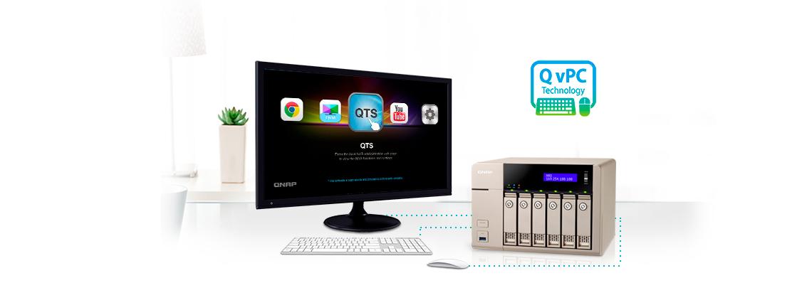 Storage com tecnologia QvPC