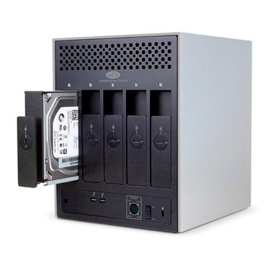 Storage DAS com arranjos RAID 0,1,5 ou 6