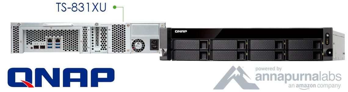 TS-831XU Qnap, um storage de rede completo