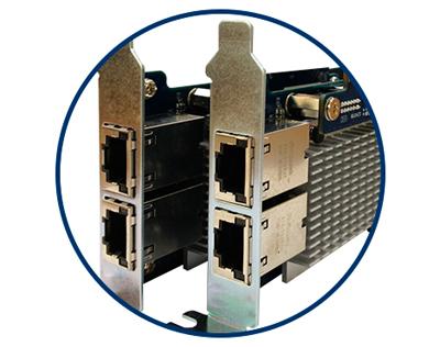 Storage escalável com suporte 10GbE