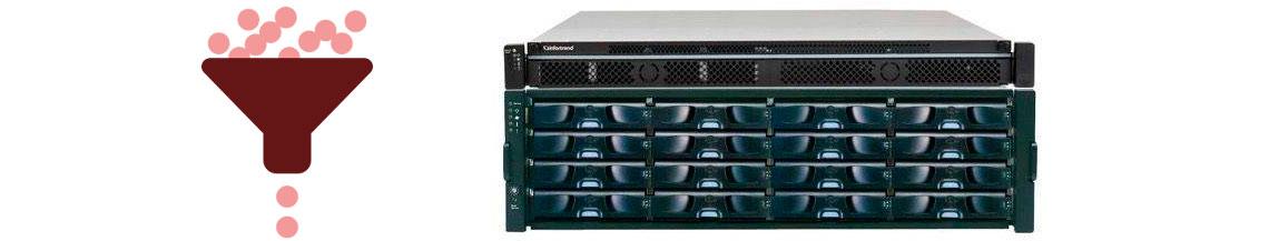 Storage Infortrend EonNAS 5120-2 com dedupliação e thin provisioning