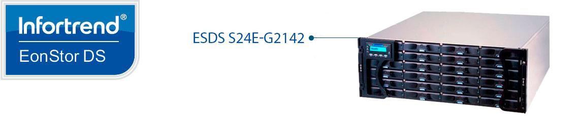 Storage iSCSI Gigabit ESDS S24E-G2142