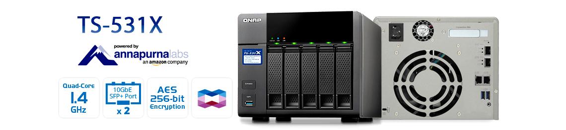 Storage NAS 50TB com alto desempenho e criptografia