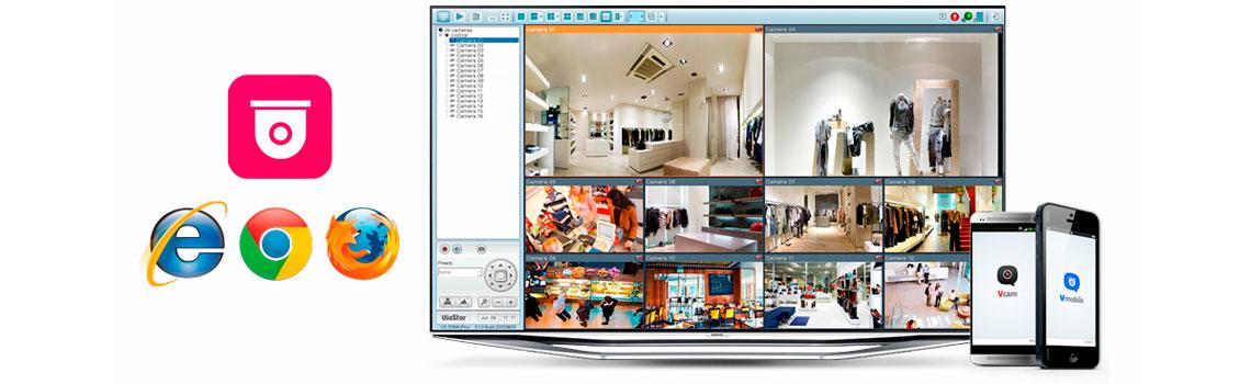Storage para CFTV, imagens de vigilância protegidas