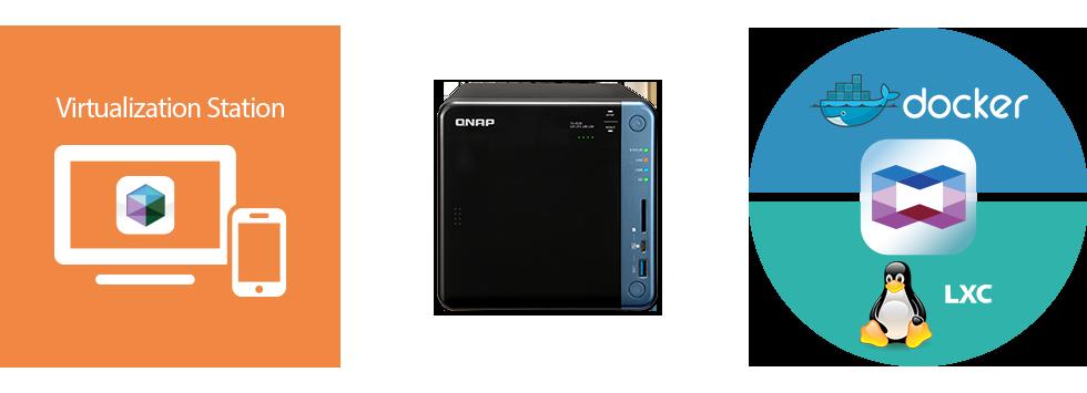 Storage para hospedagem de máquinas virtuais e aplicações containers