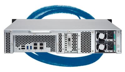 Storage rack 60TB TS-1263U-RP - Características