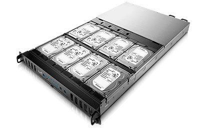Storage rack Seagate 16TB