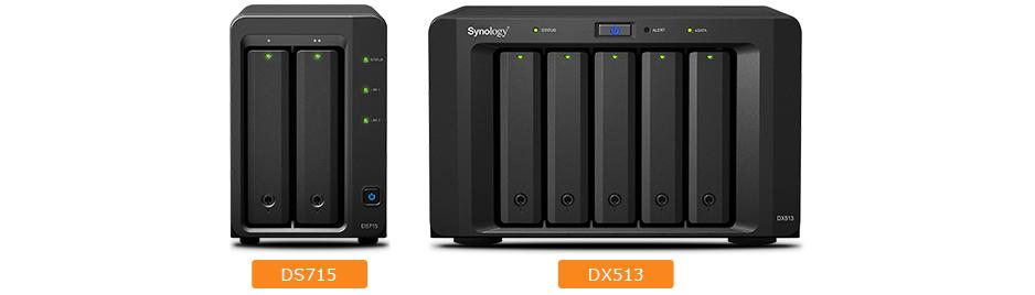 Storage robusto e escalável até 7 unidades