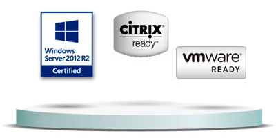 Storage server com virtualização