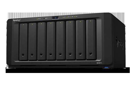 Synology DiskStation DS1817+, solução de storage centralizado