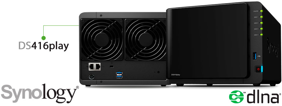 Synology DS416play, um personal cloud storage robusto e de alto desempenho