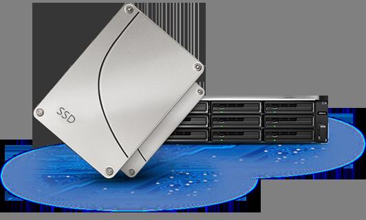 RackStation com SSD cache