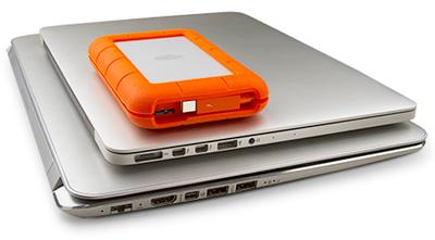 Thunderbolt e USB 3.0: Conectividade total
