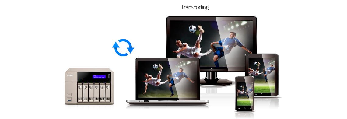 Transcodificação de vídeo HD em tempo real e offline