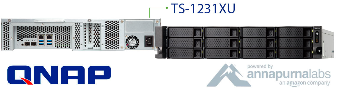 TS-1231XU, o servidor para backup ideal