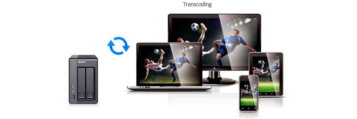 TS-251+, um media server com transcodificação de vídeo