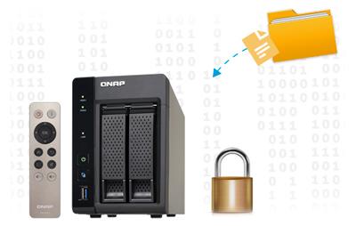 TS-253A, um sistema seguro para seus dados