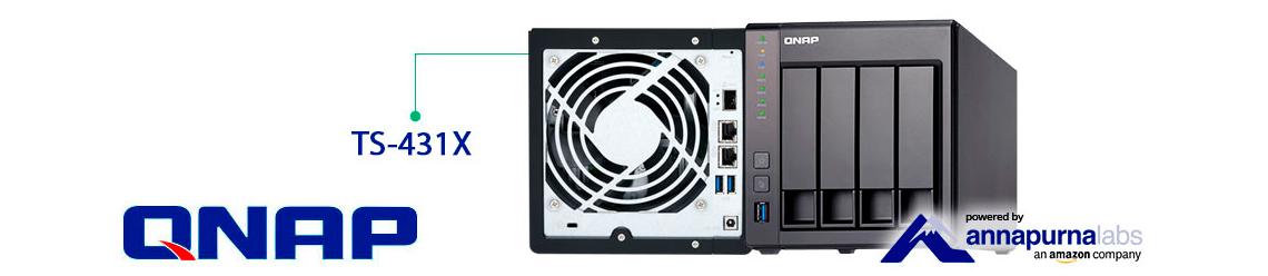 TS-431X Qnap, NAS até 40TB ideal para pequenas empresas