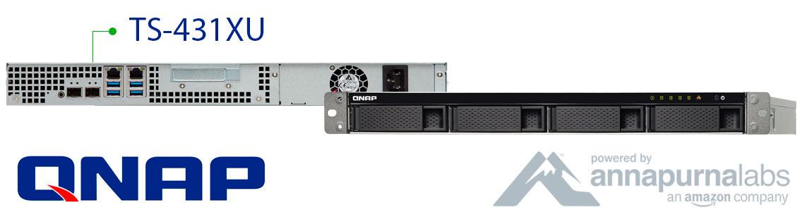 TS-431XU Qnap, cloud NAS para pequenas e médias empresas