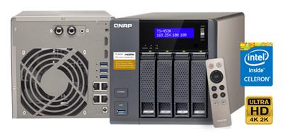 TS-453A Qnap, um NAS 16TB para vídeos 4K