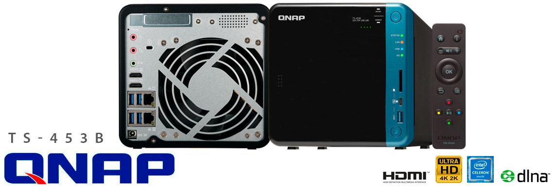 TS-453B Qnap, NAS 4 baias ideal para aplicações multimídia
