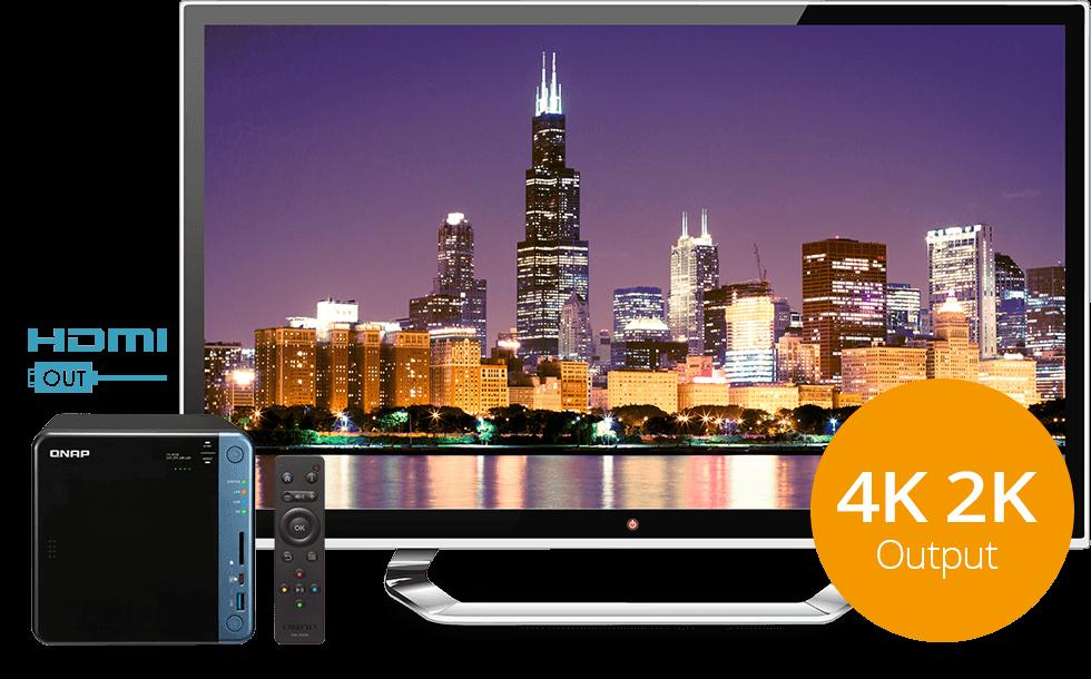 TS-453B, saída HDMI 4K e certificação multimídia DLNA