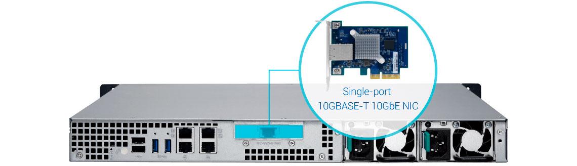 TS-463XU-RP, NAS com conexão 10GbE integrada