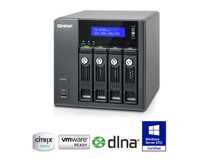TS-469 Pro, um servidor de rede hot swap