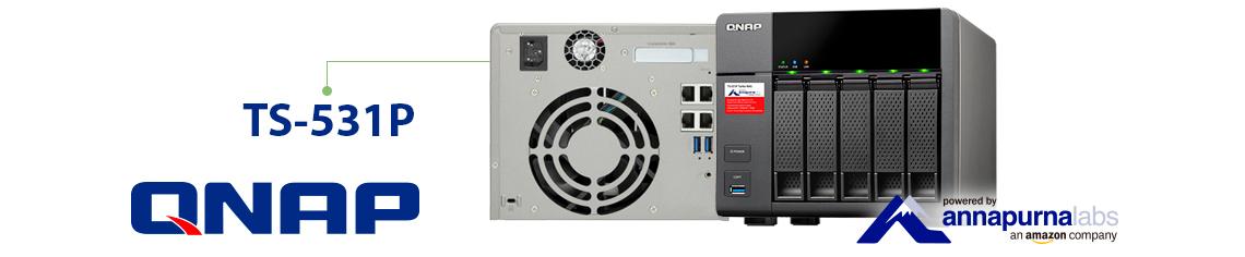 TS-531P, 5 Bay storage profissional