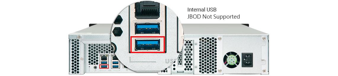 TS-853BU-RP, enterprise storage escalável até 24 drives